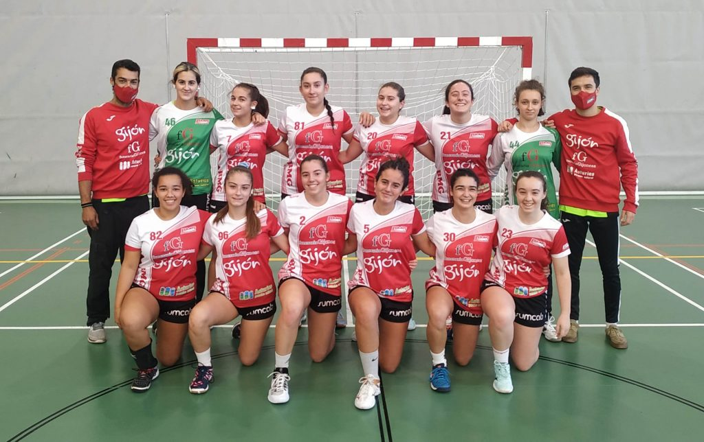 Juvenil B 2021 Balonmano Gijón