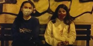 Zoe Gonzalez y Selena Garcia abril 2021