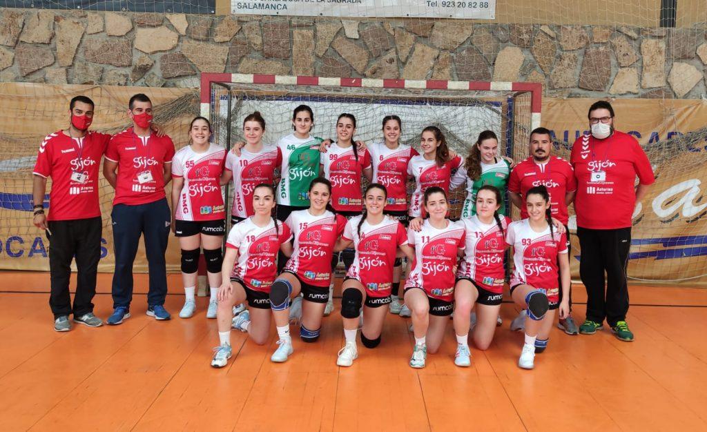 Juvenil A 2021 balonmano Gijón