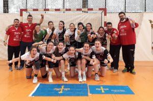 Balonmano Gijón Juvenil campeon sector salamanca 2021